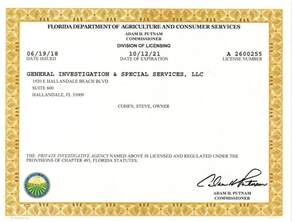 General Investigation & Special Services LLC